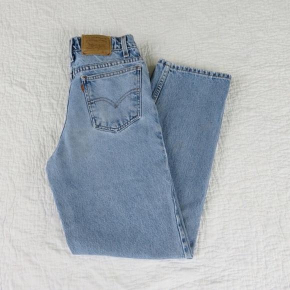 d8b3560a426 Levi s Denim - Vtg Levi s 550 Student Fit Mom Jeans Sz ...